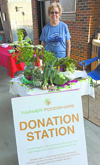 Celebrate Farmer Foodshare on July 6th at Foothills Farmers' Market in Uptown