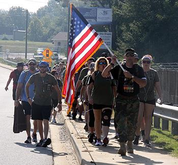 Memorial March honors Major Paula Graham, raises awareness for Veteran and Military sucide rate