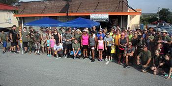 Major Paula Graham Memorial March held...