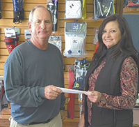 Youth League teams benefit from donation