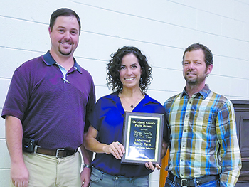 Underwoods receive Farm Family of the Year Award