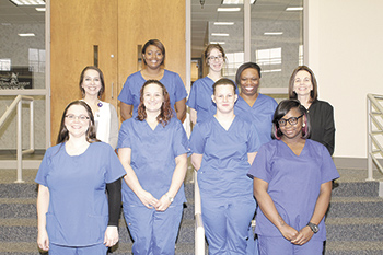 CCC students receive Nurse Aide 1 certificate pins