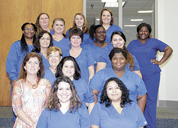 Students receive Nurse Aide II certificates at CCC