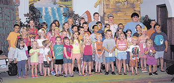Kids Take A Journey at New Hope's Vacation Bible School