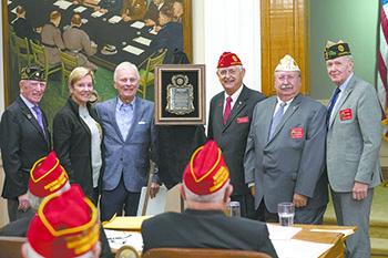 ALWS Committee Receives American Legion Patriot Award