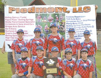 11U Riverhawks Baseball Team Wins Championship Bracket