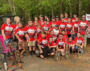 Pinnacle Classical Academy archery teams sweep three state championships!