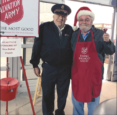 Gold Coin Dropped in Salvation Army Red Kettle in Shelby, NC