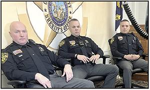 Sheriff's Deputies save man from Buffalo Creek