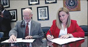 GWU Godbold School of Business and Walmart Distribution Center announce partnership