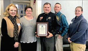 Cleveland County Sheriff's Office Receives Special Award