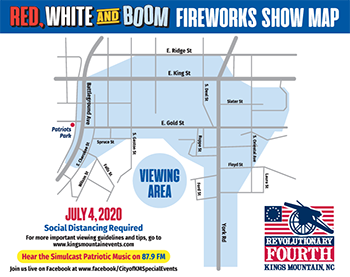 KM Fireworks Show Set For July 4th - With Modifications