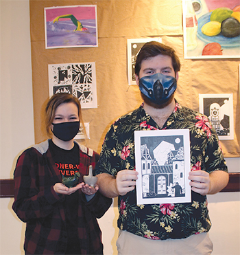 GWU students to offer art sale April 24