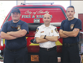 The call to fire service runs deep in Captain Quentin Cash