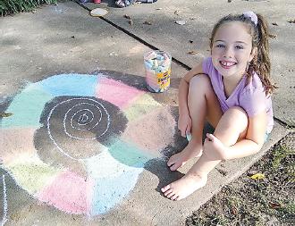 Chalk Fest brightens county Court Square