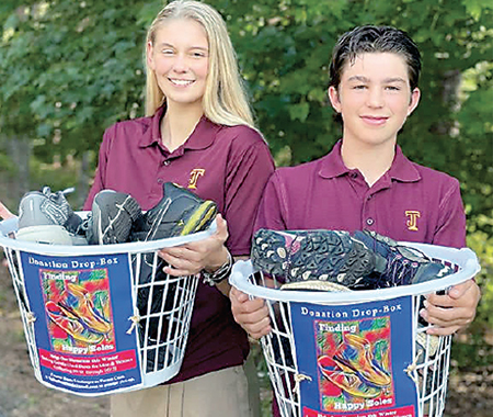 High Schoolers from Casar Seeking Shoes for Homeless