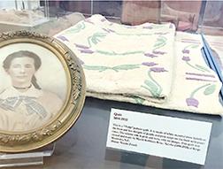 Exhibit shows needlework through the years