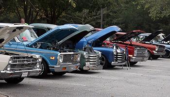 SENIOR CENTER CAR SHOW...
