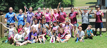 SonRidge Farm campers choose Cleveland County Animal Shelter for Community Service Project