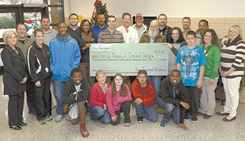 Special Olympics Cleveland County receives over $29,000 from 8th Annual Bass Fishing Tournament