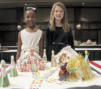 Local students place in National Gingerbread Competition