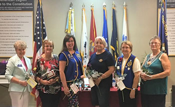 American Legion Auxiliary Unit 82 installs new officers