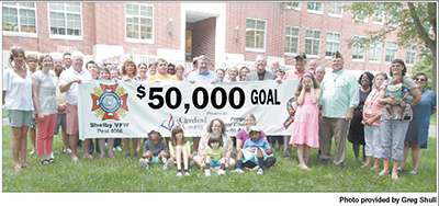 You can help Shelby VFW reach their $50K goal for Autistic student programs