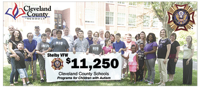 Shelby VFW fundraiser benefits Cleveland County Schools students