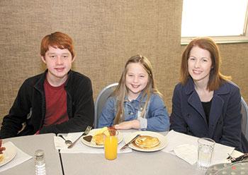 Family Afair Breakfast at the Aldersgate
