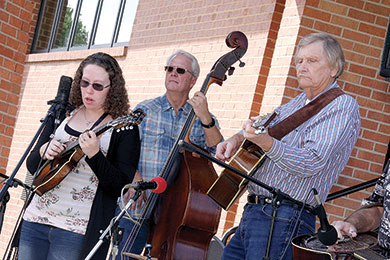 PERFORMING AT THE APPLE BUTTER FESTIVAL