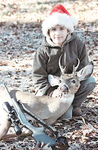 Maverick Smith Bags First Deer