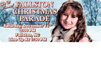 FALLSTON CHRISTMAS PARADE IS DEC. 11th 2014