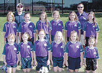 GSSCA U10 Girls Soccer Team Undefeated Season