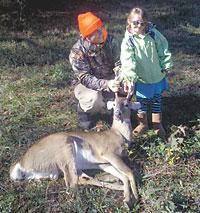 Brian Goode Gets First Deer