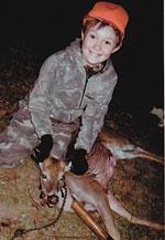 Jamie Gilliam Gets First Deer!