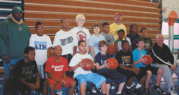 Shelby City Park's Midget Basketball Is Underway!