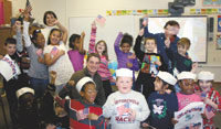 """Sailor Joe"" Visits Jefferson 1st Graders"