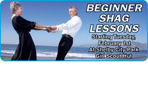 BEGINNER SHAG LESSONS OFFERED
