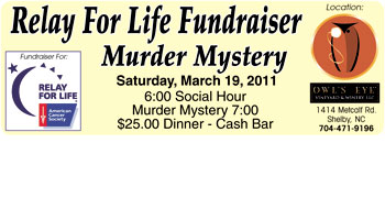 RELAY FOR LIFE FUNDRAISER...