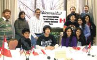 Students From Santiago De Surco Visit Our Area