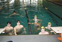 Sharks Aquatic Club Competes