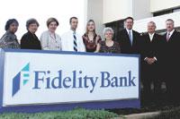 Shelby Branch Receives Fidelity Bank President's Award