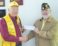 Shelby Lions Club Supports Legion's Children And Youth Oratorical Contest