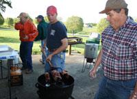 Pitchfork Steak Supper Held