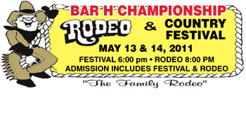BAR H CHAMPIONSHIP RODEO & COUNTRY FESTIVAL