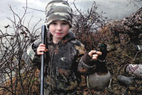 Young Sportsman, Ty Mosteller...