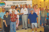 Broad River European Motor Club  Supports Abuse Prevention Council