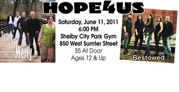 HOPE 4 US at Shelby City Park