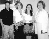 Hilary Berry Receives Scholarship