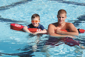 Pool's Open.... Let's Learn To Swim!